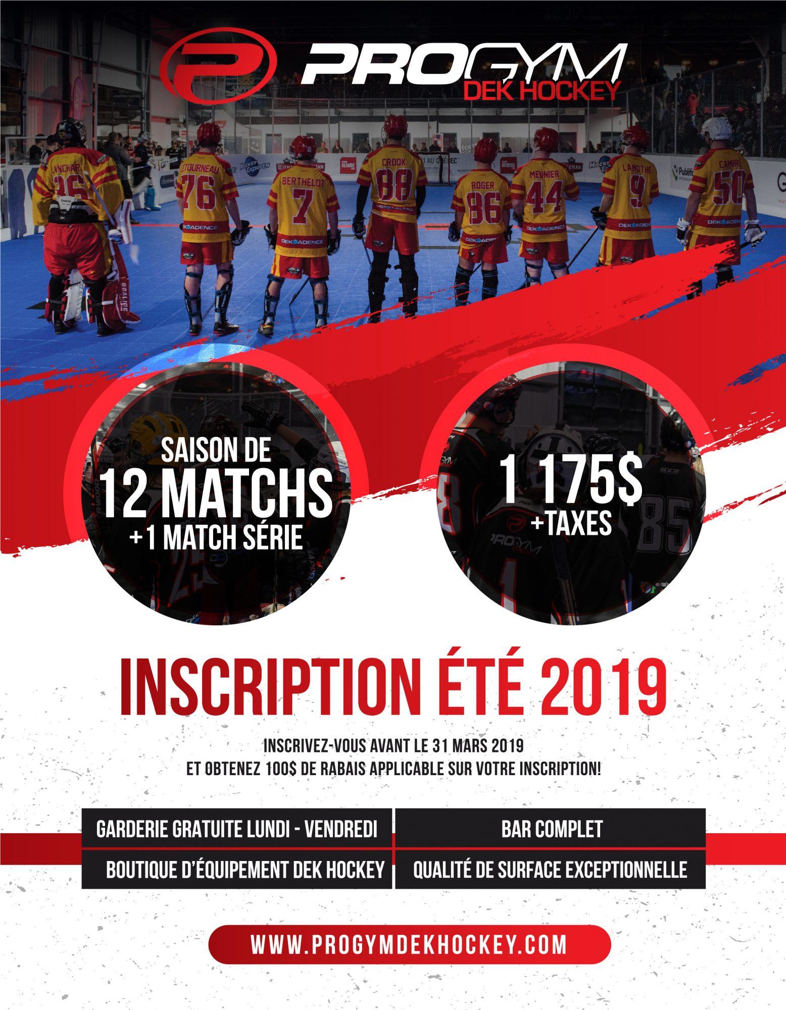 ProGymDekHockey Affiche8 5x11